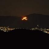 嵐山高雄パークウェイから五山送り火