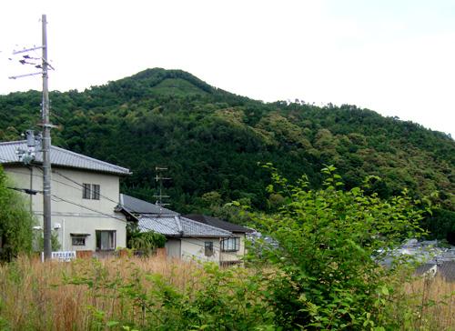 銀閣寺の近くの空き地