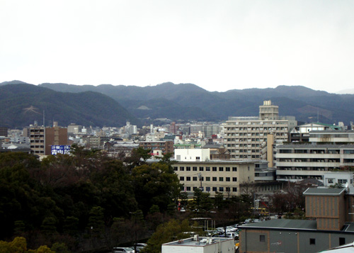 京都全日空ホテルから左大文字と船形