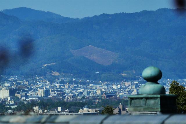 清水寺境内から見た船形