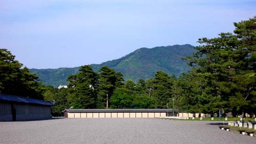 京都御苑から大文字