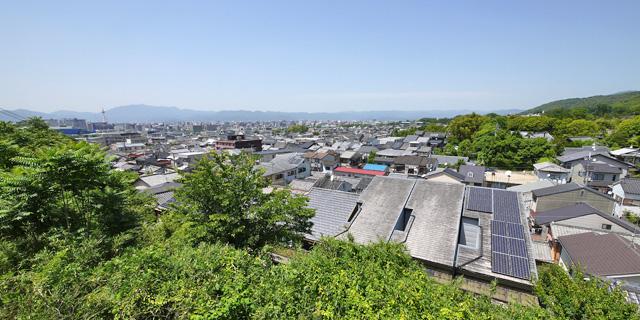泉涌寺 悲田院からの景色