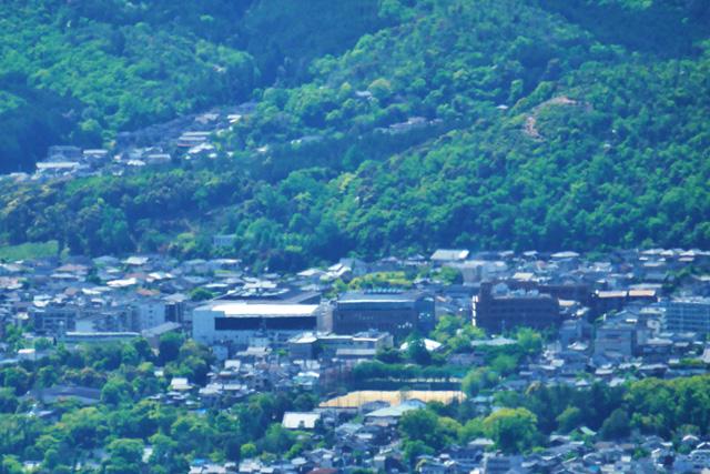 比叡山から見る五山送り火