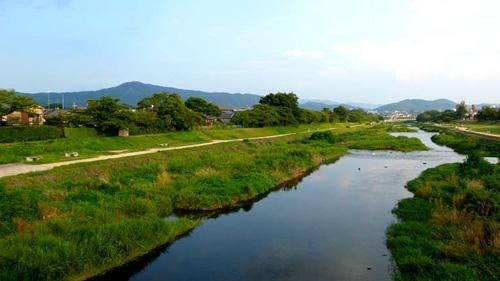 賀茂川の出雲路橋