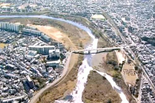 松尾橋 桂川