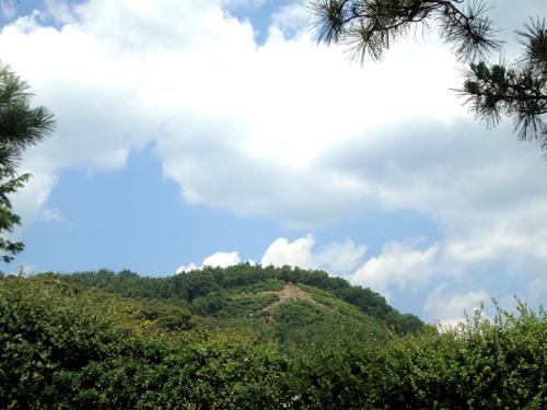金閣寺からの大文字