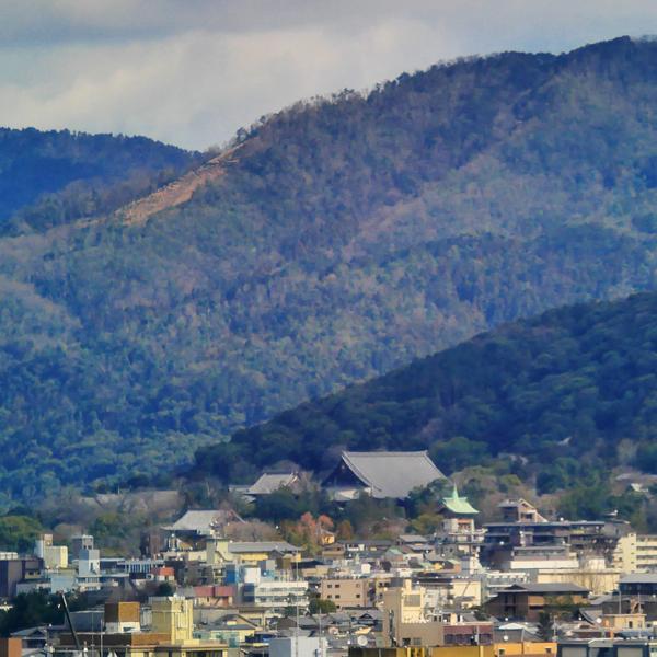 京都駅から五山送り火