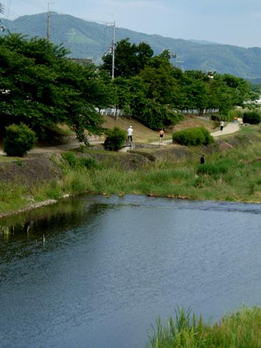御薗橋から大文字