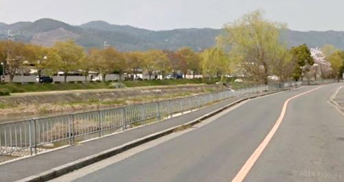 御薗橋から船形