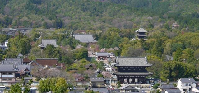 双ヶ丘から仁和寺