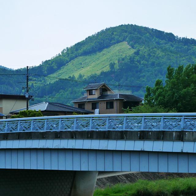 西賀茂橋から船形