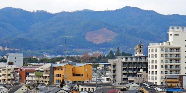 洛北阪急スクエアからの眺望