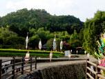 清凉寺北側