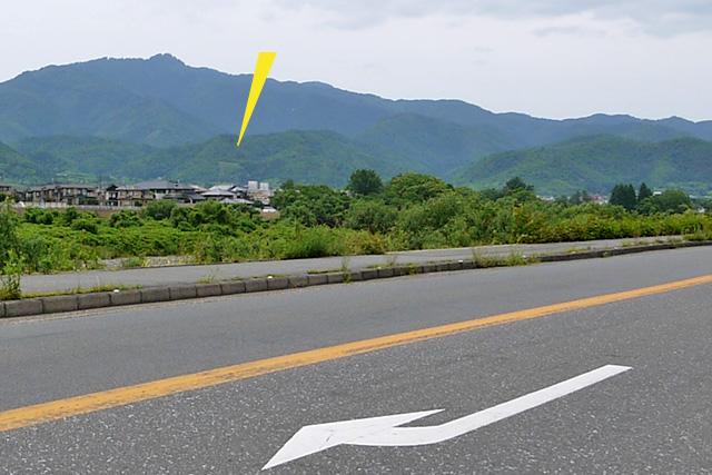松尾橋北の景色