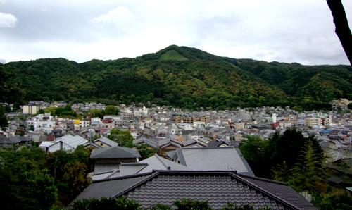 吉田山から見た大文字