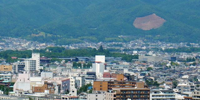 京都造形芸術大学の展望テラス
